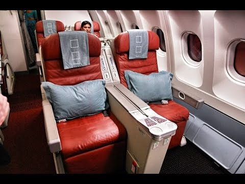 Srilankan Airlines Business Class: CDG to CMB 17/04/15