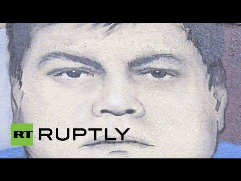 Serbia: Mural honours downed Su-24 pilot Oleg Peshkov