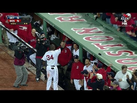 David Ortiz ties game with grand slam in 2013 ALCS Game 2