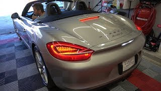 Changing the Oil on a 2013 Porsche Boxster S (poorly)