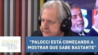 "Augusto Nunes: ""Palocci está começando a mostrar que sabe bastante"""