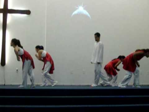 Coreografia Pascoa IEQ Saco dos Limoes- Corpo de Cristo