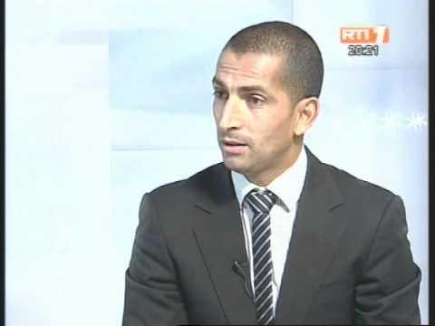Sabri Lamouchi, le nouvel entraîneur de l'équipe nationale est l' invité du JT
