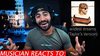 Download lagu Musician Reacts To Taylor Swift Wildest Dreams (Taylor's Version)