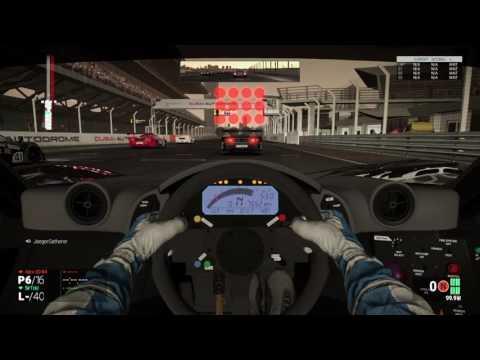 McLaren F1 Gtr @ Dubai Kerb Clippers WEC R2