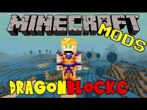 Dragon Block C - Minecraft DBZ Mod - Items, Attacks, Features & More
