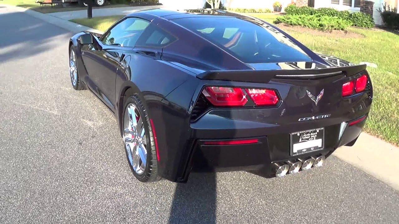 2015 Midnight Race Blue Corvette