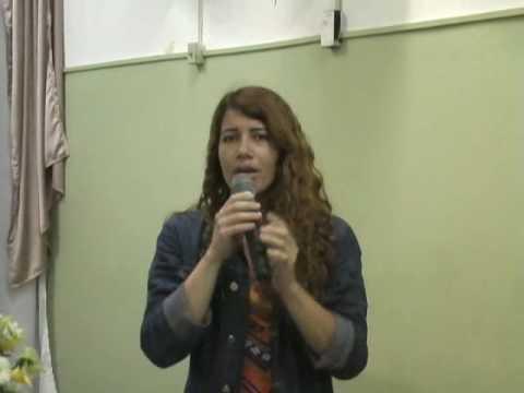 Missionária Leandra Nascimento DVD gravado Pela Voz Profética Produções