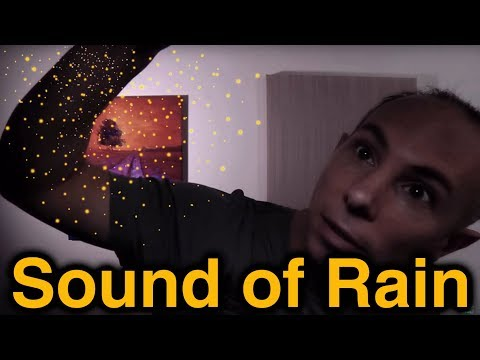 Asmr Sound Of Rain 1 -  Imitated Rain With White Balance Card 40mins video