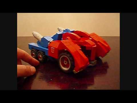 OPTIMUS PRIME WAR FOR CYBERTRON  VER. 3. A Lego Transformers Creation