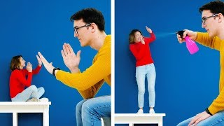 18 FUN TRICKS FOR YOU AND YOUR FRIENDS