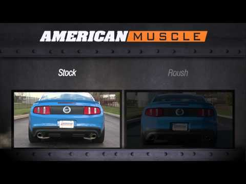 2011-2014 Mustang Roush Axle-Back Exhaust Sound Clip (GT. GT500) Review