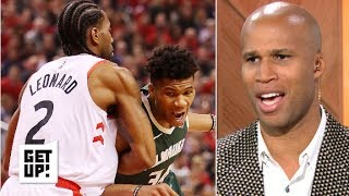 The Warriors are hoping the Bucks vs. Raptors series goes the distance – Richard Jefferson | Get Up!