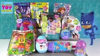 Wonder Pop Disney Squinkies Surprise Egg Trolls Blind Bag Toy Opening | PSToyReviews