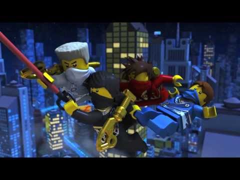 LEGO Ninjago Rebooted: Official 2014 Trailer