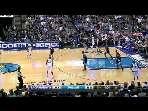 Yi Jianlian vs Sac (2012.01.15) dunks, 5pts