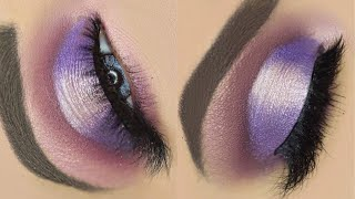 Pink and Purple Eye Makeup | Holiday Makeup| Morphe- JaclynHill Vault Palette