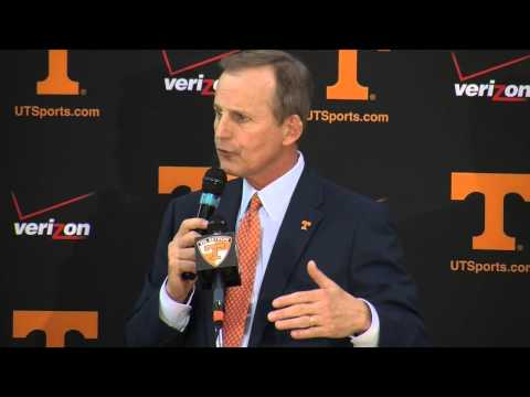 Full press conference: Rick Barnes introduction