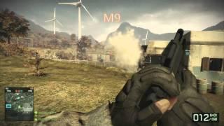 Battlefield Bad Company 2 vs Battlefield 3: Gun sound comparison
