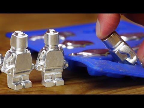 DIY Metal Lego-Style Figures using Gallium