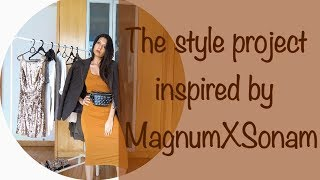 Style Project inspired by MagnumxSonam (how to style dark colors with minimum efforts)
