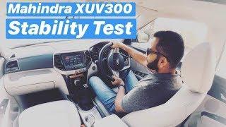 2019 Mahindra XUV300 - Driving Dynamics & Stability (Hindi + English)