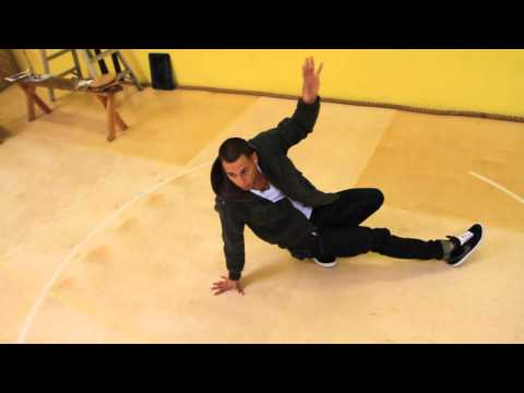 How to Three Step Tutorial- breakdance how to do a 3 step