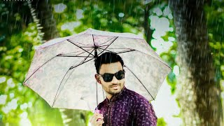 Photoshop Tutorial | Add RAIN Effect in your Photo