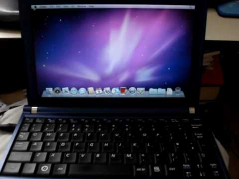 Samsung NC10 Dual boot Mac OS X Snow Leopard and Windows 7
