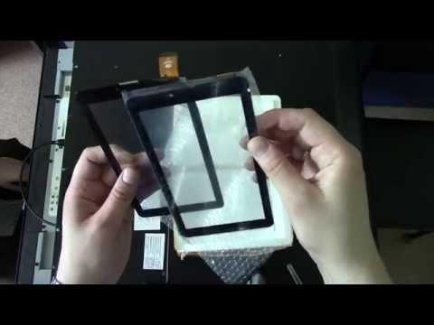 Посылка с Ali #157: Сенсор для планшета Explay Hit - Видеоинструкции: Как сделать своими руками