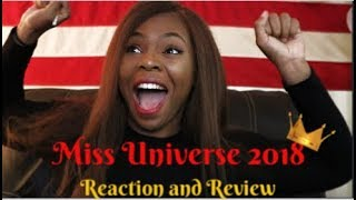 Miss universe 2018 live reaction and Recap