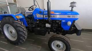 Sonalika Di-35 Sikandar tractor tow Model Difference
