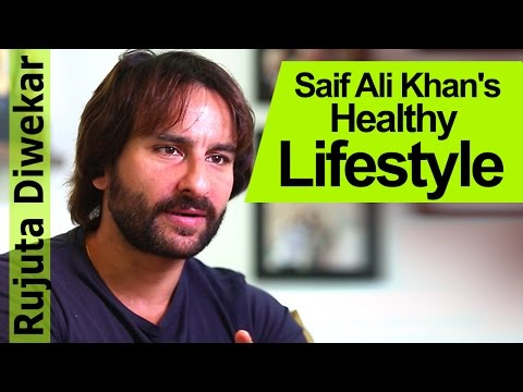 Tips on Healthy Living with Saif Ali Khan - Rujuta Diwekar - Indian Food Wisdom