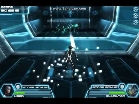 TRON Disc Battle Gameplay