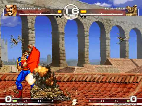 MUGEN : Mess with the Bull Laurence Blood vs Bull chan