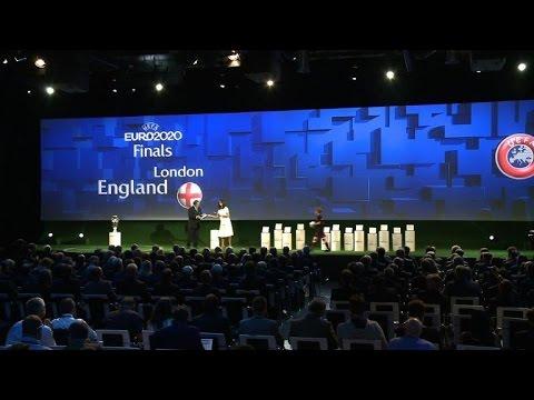 Foot/Euro-2020: la finale et les demi-finales à Londres