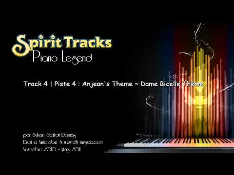 The Legend of Zelda : Spirit Tracks Piano Legend Track 4