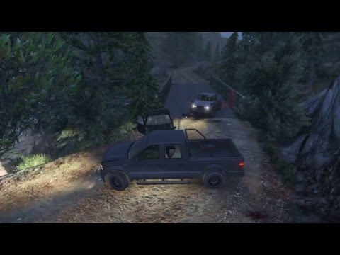 No Country for Old Trevors - Deal Gone Wrong event - Grand Theft Auto V (No HUD)