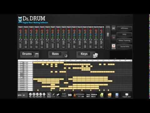 Beat mixer software -make better beats with Dr.Drum!