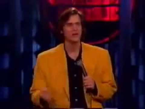 Jim Carrey - Very funny standup act