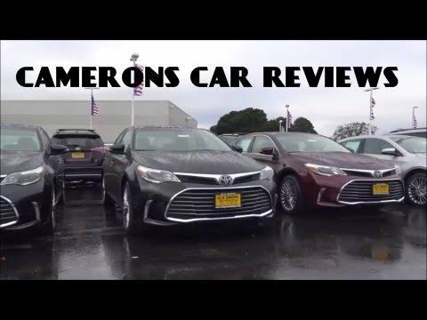 2016 Toyota Avalon Limited 3.5 L V6 Review | Camerons Car Reviews