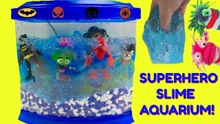 How to Make a DIY Slime Superhero Aquarium Fish Tank