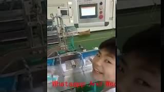 Wooden and paper stick cotton swab making machine