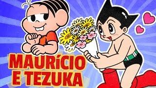 MAURICIO DE SOUSA E OSAMU TEZUKA!
