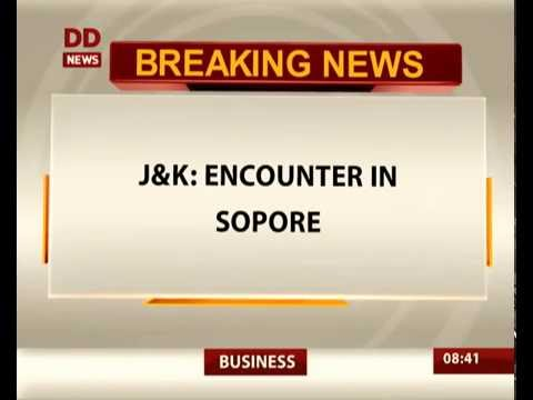 Jammu and Kashmir: one terrorist killed in Sopore