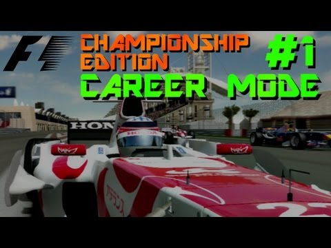 F1 Championship Edition Career: Bahrain GP 2006 [S1 #1]