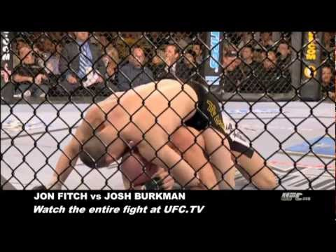 Submission of the Week: Jon Fitch vs. Josh Burkman Image 1