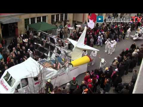 56. Memmelsdorfer Faschingzug (Gaudiwurm) / Videobeitrag von Dirk Peter