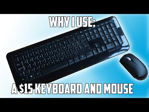 Why I Game On a $15 Keyboard and Mouse