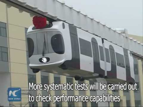 China's first suspension railway ready for more systematic operations